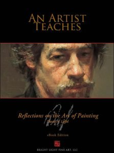 A photo of the book cover for An Artist Teaches by David A. Leffel