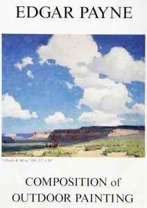 A photo of the book cover for Composition of Outdoor Painting by Edgar Payne